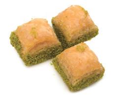 Hafız Mustafa Dry Baklava with Pistachio 1 kg - Thumbnail