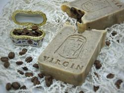 VIRGIN NATURA - 100% NATURAL COFFEE SOAP