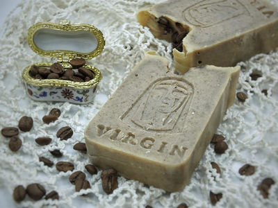 100% NATURAL COFFEE SOAP
