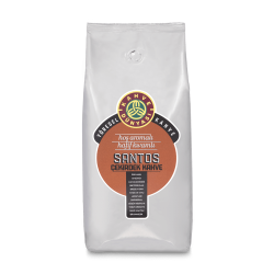 Kahve Dünyası - قهوة حبوب سانتوس المحمصة 1000 غرام قهوة دنياسي