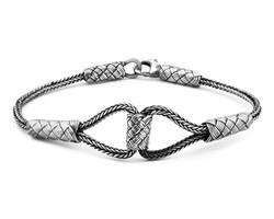 Tesbihane - Hand Braid 1000 Sterling Silver Women's Bracelet
