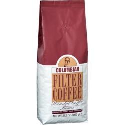 Kurukahveci Mehmet Efendi - قهوة حبوب كولومبيا مفلترة 1000 غرام محمد افندي