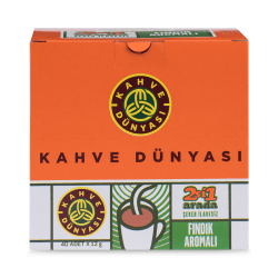 Kahve Dünyası 2in1 Hazelnut Flavored Package of 40 - Thumbnail