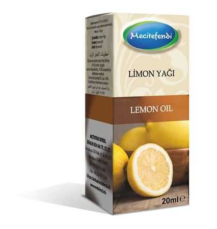 Mecitefendi Lemon Natural Oil 20 ml