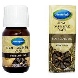 Mecitefendi - Mecitefendi Black Garlic Natural Oil 20 ml