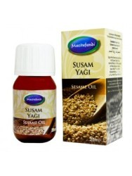 Mecitefendi Sesame Natural Oil 20 ml - Thumbnail