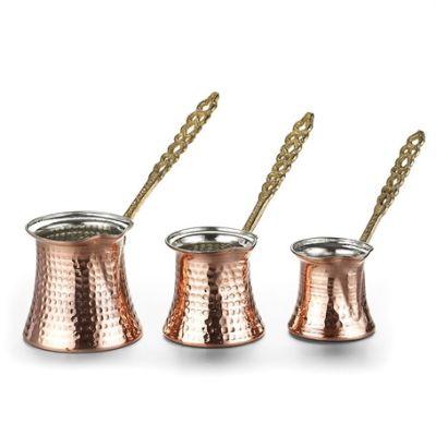 Copper Coffee Pot Set