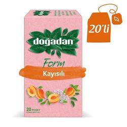 Doğadan - شاي فورم أعشاب مخلطة مع مشمش دوغادان