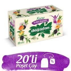 Doğadan - شاي فورم أعشاب مخلطة مع المشمش والبرقوق دوغادان