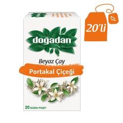 Doğadan - الشاي الأبيض مع الزهور البرتقالية دوغادان