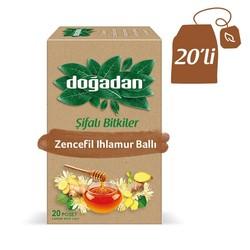 Doğadan - شاي الزنجبيل والعسل والجير الطبيعي دوغادان