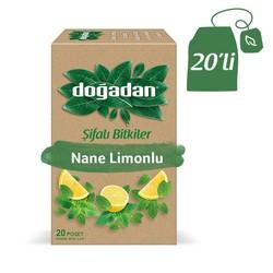 Doğadan - شاي الليمون والنعناع الطبيعي دوغادان