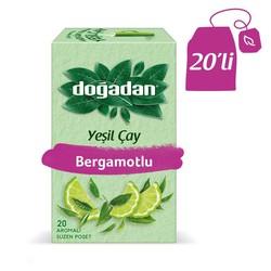 Doğadan - الشاي الأخضر مع الليمون الأخضر الطبيعي دوغادان