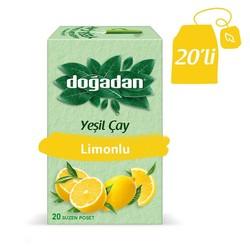 Doğadan - الشاي الأخضر بالليمون الطبيعي دوغادان
