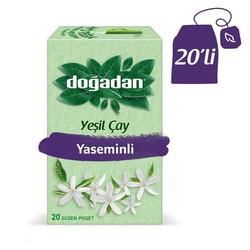 Doğadan - الشاي الأخضر بالياسمين الطبيعي دوغادان