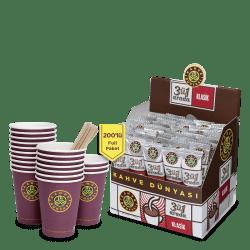 Kahve Dünyası - قهوة كلاسيك 3 في1 علبة 200 ظرف قهوة دنياسي