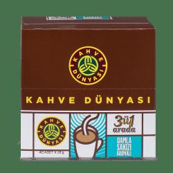 Kahve Dünyası - قهوة بالمستكة 3 في 1 علبة 40 ظرف قهوة دنياسي