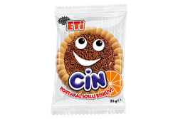 Eti - ETİ Cin Orange Jelly Biscuit 36 Pieces