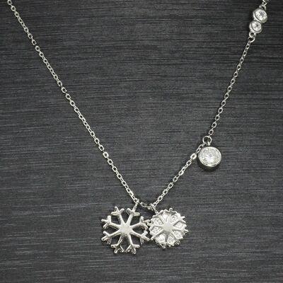 925 sterling silver women's necklace (Model 71)