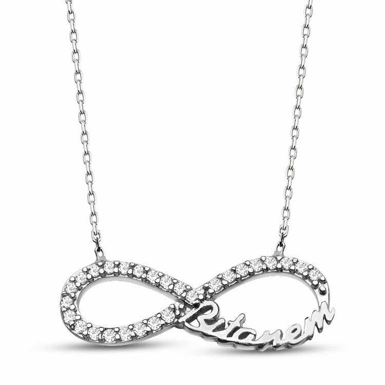 Bittanem Inscription 925 Sterling Silver Necklace