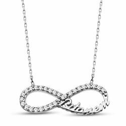 Bittanem Inscription 925 Sterling Silver Necklace - Thumbnail