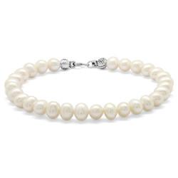 Tesbihane - Mechanism Elegant Pearl 925 Sterling Silver Women's Bracelet