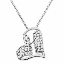 Special Design 925 Sterling Silver Necklace - Thumbnail
