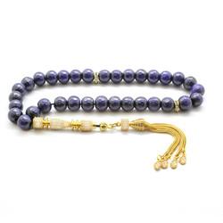 Tesbihane - Tasseled Zirconia Rosary 925 Sterling Silver