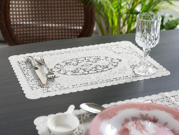 Placemats Serving Table Eating Meal Food Decorative