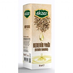 Akzer - Akzer Hemp Oil 50 ml