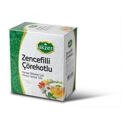 Akzer - Akzer Ginger Black Seed Herbal Tea of 60