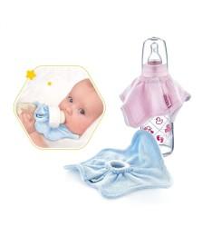 Babyjem Biberon Önlüğü Pembe - Thumbnail