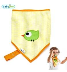 BabyJem - Baby Bib For Hygiene - Orange