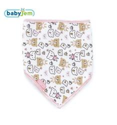 BabyJem - Baby Bib For Hygiene - Pink