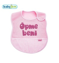 BabyJem - Baby's bib for cleanliness - it says