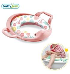 BabyJem - Toilet seat for children Babyjem Mega - pink