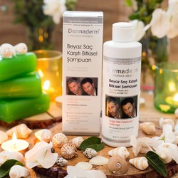 Dermaderm - Dermaderm Anti White Hair Herbal Shampoo