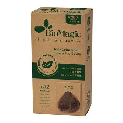 Biomagic Hair Color Cream Keratin & Argan Oil