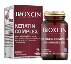 BIOXCIN - Bioxcin Forte Keratin Complex Tablet Food Supplement 60 Tablets