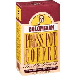 Kurukahveci Mehmet Efendi - Kurukahveci Mehmet Colombian Press Pot Coffee 500 gr