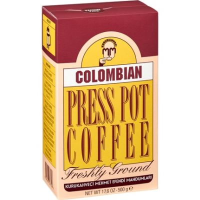 Kurukahveci Mehmet Colombian Press Pot Coffee 500 gr