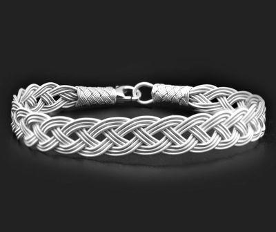 Tesbihane - Silver Handicraft 1000 Sterling Silver Bracelet