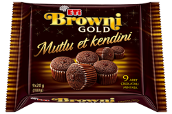 Eti - ETİ Browni Gold Mini Cake