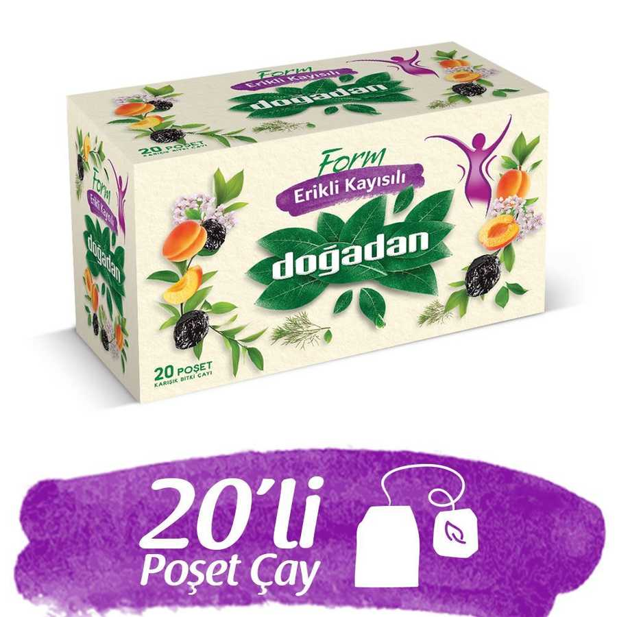 Doğadan Form Mixed Herbal Tea with Apricot and Plum