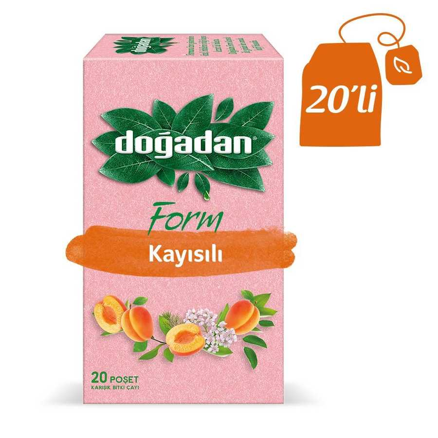 Doğadan Form Mixed Herbal Tea with Apricot