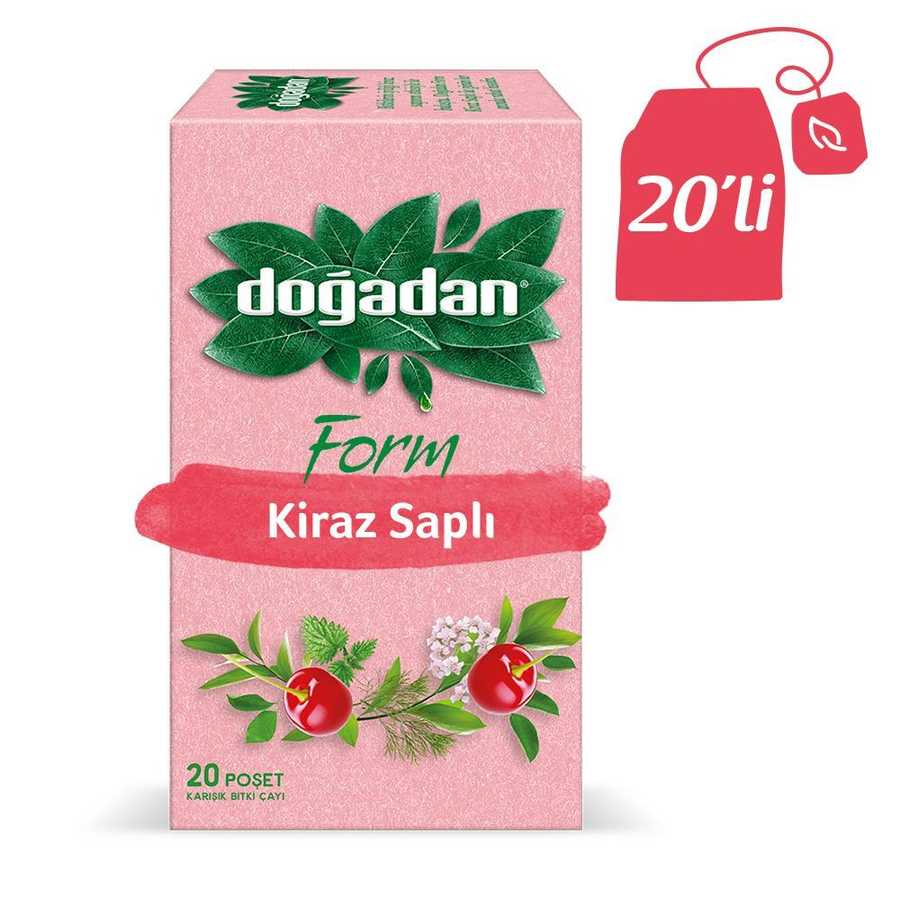 Doğadan Form Mixed Herbal Tea with Cherry Stalks