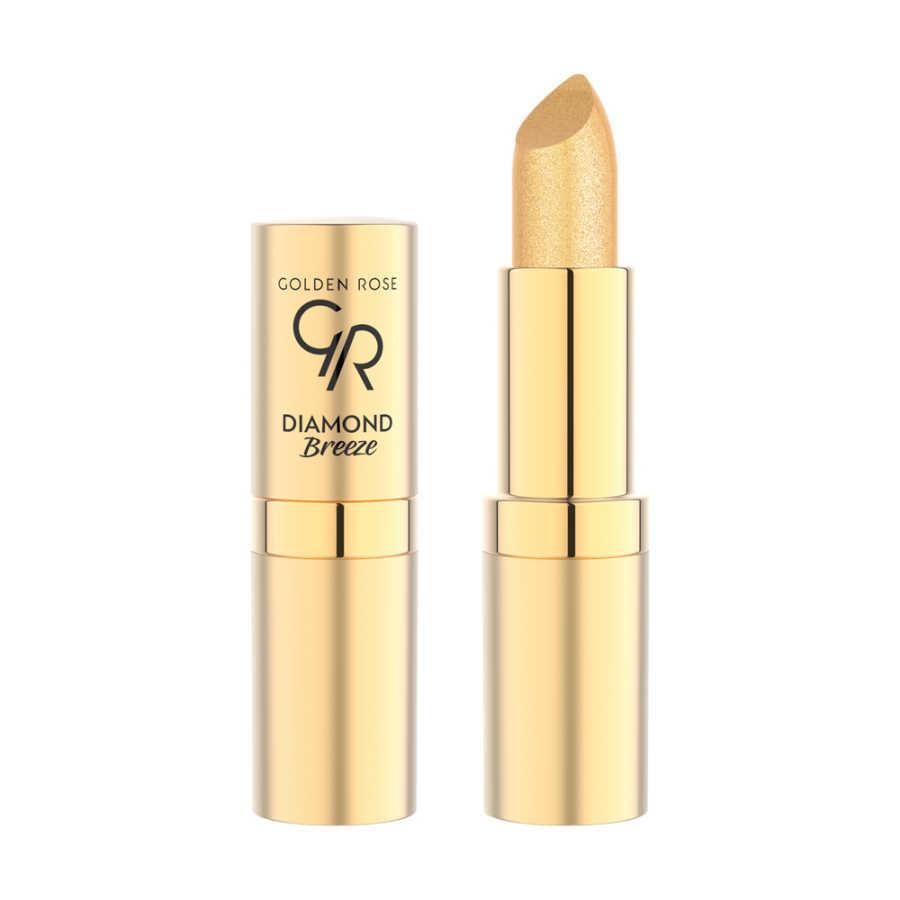 Gr Diamond Breeze Shimmering Lipstick Işıltılı Ruj روج Golden Rose