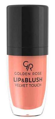 GR Lip & Blush Velvet Touch - Ruj ve Allık
