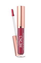 Golden Rose - GR Metals Matte Metallic Lipgloss - Mat Metalik Dudak Parlatıcısı