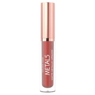 GR Metals Matte Metallic Lipgloss - Mat Metalik Dudak Parlatıcısı